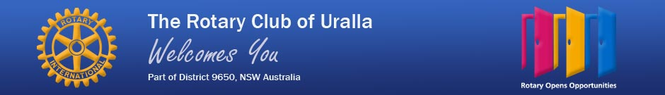 The Rotary Club of Uralla